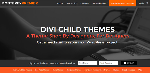 Monterey Divi Child Themes