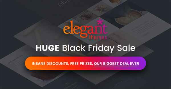 Black Friday Discount 2016
