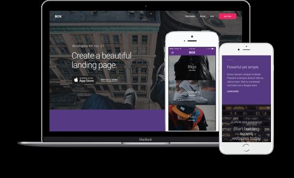 Landing Page Divi WordPress
