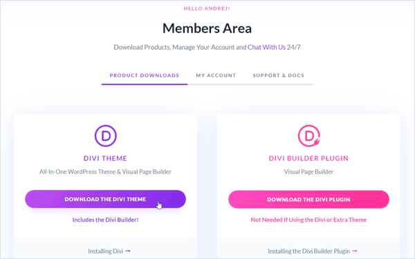 How to Install Divi Theme | Divi Theme Help & Tutorials