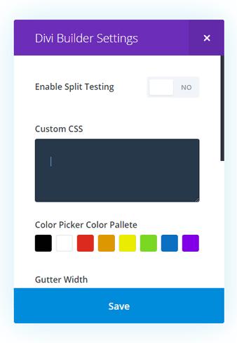 Custom CSS Code One Page