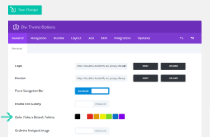 Divi Color Palette