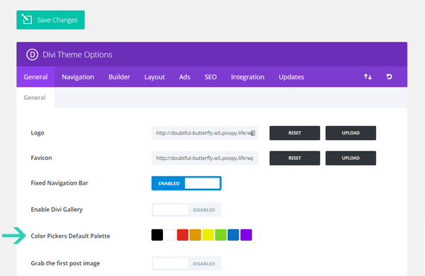 How to Setup Your Color Palette on Divi