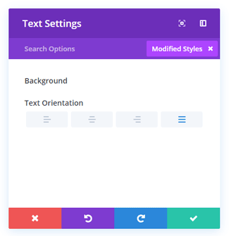 Divi Modified Styles Filter