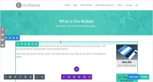 Divi Builder Screenshot