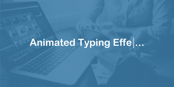 Animated Typing Effect