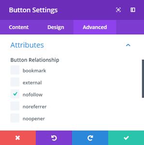Attributes Button Module