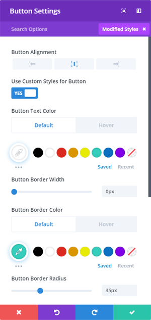 Button Settings