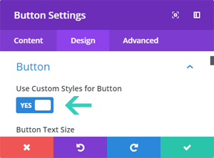 Use Custom Styles for Button