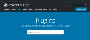 WordPress.org Plugins Page