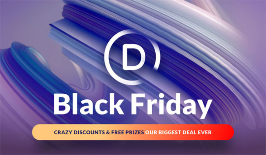 Elegant Themes Black Friday Sale 2019