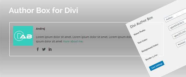 Author Box for Divi Plugin Featured Image