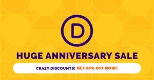 Divi Anniversary Sale